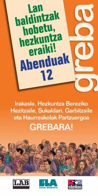 GREBA, ABENDUAK 12!!